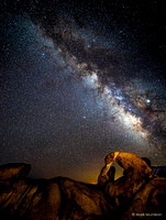 Starry Skies - Night Time Views of the Milky Way Galaxy #4
