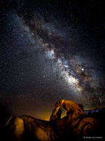Starry Skies - Night Time Views of the Milky Way Galaxy #5